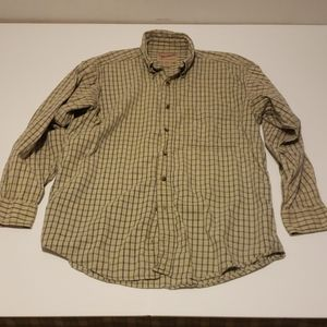 Woolrich Button Down Shirt Size Medium